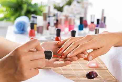 Adhara hair and beauty - Manicure Treatment Includes filing, shaping, cuticle work and more - Save 40%