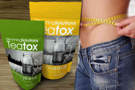Slimming Solutions - 28 day supply of teatox teabags - Save 60%