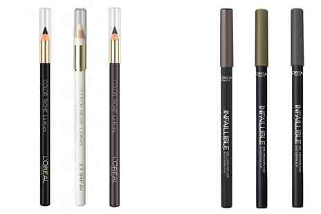 Groupon Goods Global GmbH - Three or Six LOreal Color Riche or Infallible Gel Eye Liners - Save 78%