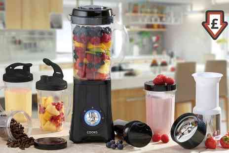 Groupon Goods Global GmbH - Cooks Professional Multi Functional Blender with Small or Large Cup - Save 64%