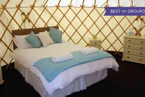 Rookery Manor - One or Two Night Yurt Stay for Two with Spa Access and Dinner Credit - Save 49%