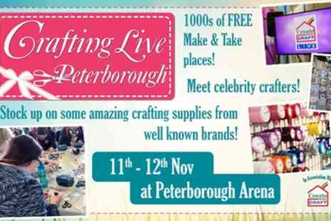 Crafting Live - Two tickets to Crafting Live on one or both days on 11 To 12 November - Save 40%