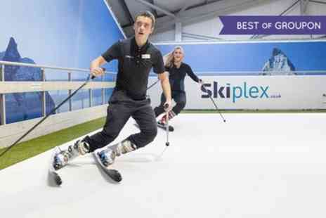 Skiplex - One Hour Ski or Snowboard Lesson for One or Private Slope Hire for Up to Six - Save 53%