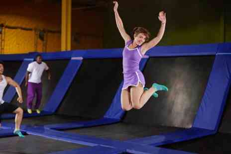 Planet Leisure - One Hour Trampoline Park Access for One or Two - Save 24%