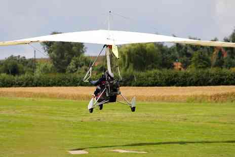 Microlight Flights - One hour microlight flight experience - Save 56%