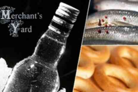 The Merchants Yard - Russian Delicacies Package Vodka, Pickles, and More - Save 50%