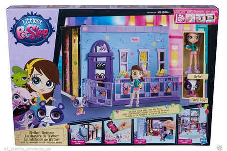 Ckent - Littlest Pet Shop bedroom style set - Save 60%