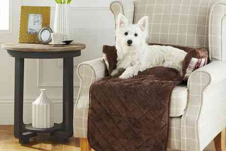 Groupon Goods Global GmbH - Bunty Stirling Tartan Dog Sofa Bed in Choice of Colour and Size - Save 0%