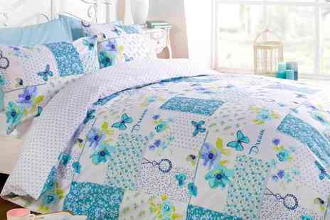 Groupon Goods Global GmbH - Reversible Dream Patchwork Duvet Set - Save 67%