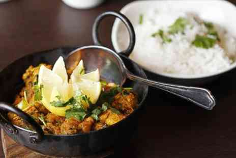 Jumaira Spice - Two Course Indian Meal for Two or Four - Save 48%