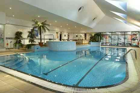 Hilton East Midlands - leisure day pass with sparkling afternoon tea for two people - Save 0%