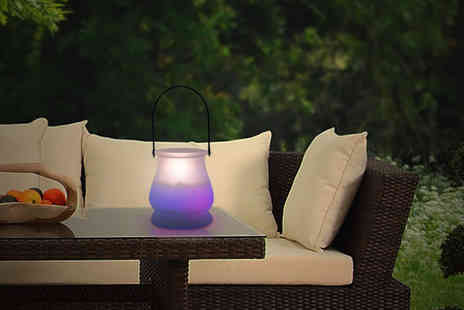 Ckent - An LED colour changing candle jar or pillar candle - Save 60%