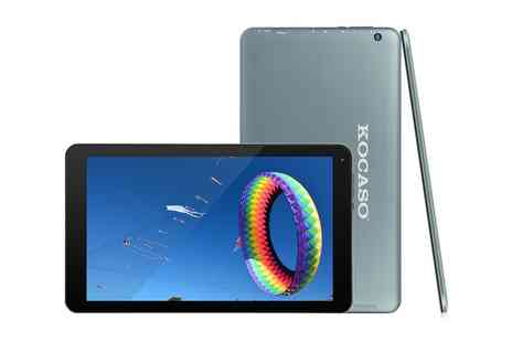 Groupon Goods Global GmbH - Kocaso 10.1 Inch Quad Core Android 5.1 Bluetooth Tablet in Choice of Colour With Free Delivery - Save 0%