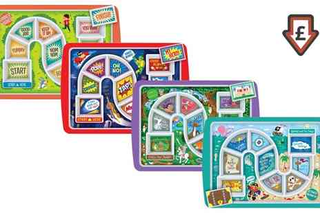 Groupon Goods Global GmbH - One or Two Fred Dinner Winner Childrens Plate Trays in Choice of Design - Save 67%