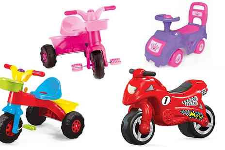 Groupon Goods Global GmbH - Dolu Ride On Toy - Save 60%