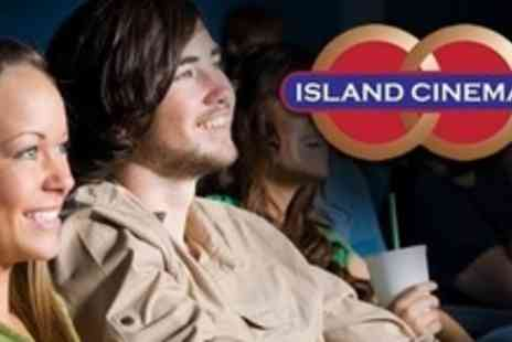 The Island Cinema - Two Tickets With Medium Popcorn - Save 50%