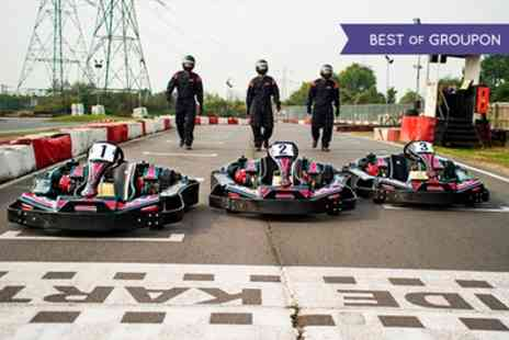 Lakeside & Brentwood Karting - Up to 20 Minutes of Karting for One or Two - Save 54%