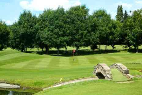 Forest Hills Golf Club - 18 Holes of Golf with Hot Drink for Two or Four - Save 64%