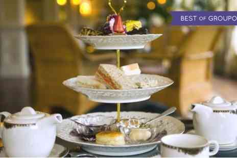 Shrigley Hall Hotel - Afternoon Tea with Glass of Prosecco for Two or Four - Save 58%