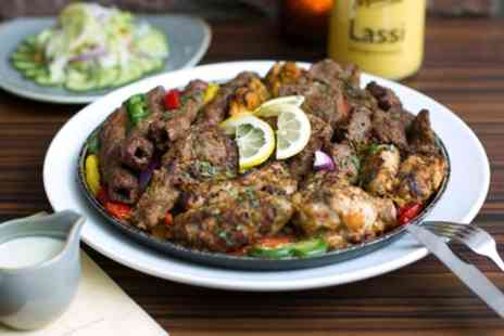 1887 Lounge & Bar - Indian Platter or Mixed Grill with Drink for Two or Four - Save 48%