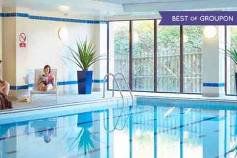 The Hampshire Court Hotel - Spa Day Pass with Two Treatments, Drink and Pastry for One or Two - Save 0%