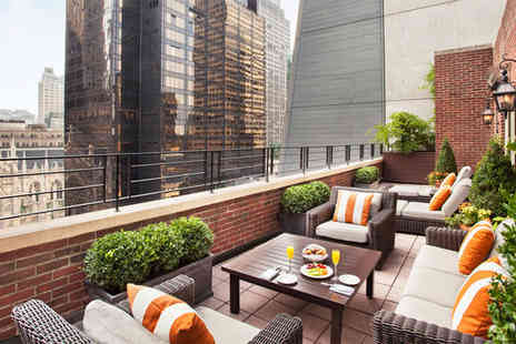 Omni Berkshire Place - Four Star Manhattan Stay near Famous 5th Avenue for two - Save 82%