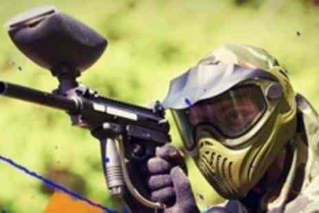 Paintball Challenge - Paintballing For Ten - Save 92%