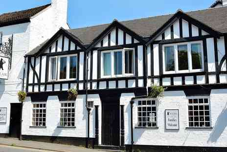 The Bear at Hodnet - Two Night Stay at Historic Shropshire Inn with Meals - Save 59%
