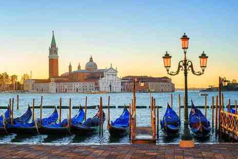 Weekender Breaks - Two or Three night 4 Star Venice break including flights, breakfast, and superior room upgrade - Save 34%