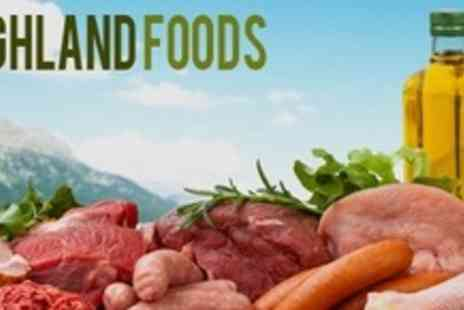 Highland Foods - Organic BBQ Meat Pack With Chicken Wings and Burgers - Save 50%
