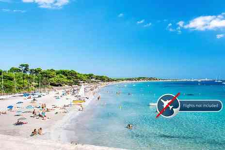 Stoke Travel - All inclusive Ibiza beach camp holiday including guided party tours, beach activities and unlimited beer and sangria - Save 24%
