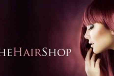 The Hair Shop - Half Head Highlights or Full Head Colour With Cut and Conditioning - Save 65%