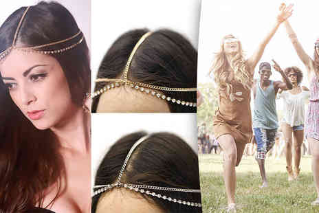 I Luv Boutique - Two pack of festival head chains - Save 87%