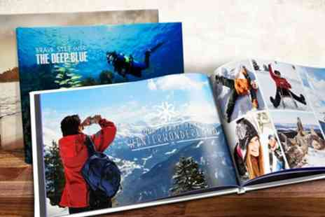 Printerpix - Up to Three Personalised A4 or A5 Hardback Photobooks with 20 or 40 Pages - Save 71%
