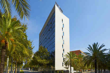 Four Points by Sheraton Barcelona Diagonal - Three Star Fantastic Location Stay For Two on Avenida Diagonal - Save 63%