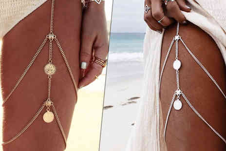 Your Ideal Gift - Boho Style Thigh Jewellery in 2 Colours - Save 78%