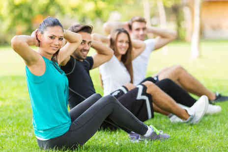 Healthiness - One month outdoor bootcamp - Save 65%