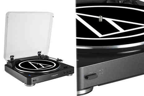 Hanaco - Audio Technica ATLP60BT Bluetooth turntable - Save 14%
