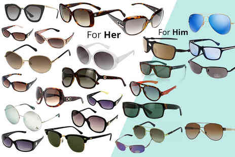 Brand Logic - Mystery sunglasses deal for him or her from Oakley, Ray Ban, Glare, Gucci, Prada, Dior, Burberry and more - Save 0%