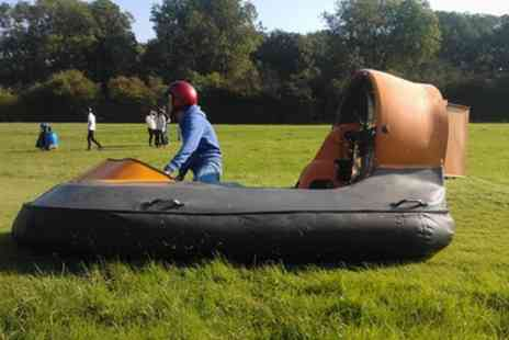 High Cross Hovercraft - Hovercraft Taster Session for One - Save 51%