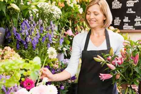 Homeland Florist - Two Hour Begginers Floristry Lesson with Cream Tea for One or Two - Save 52%