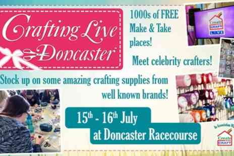 Crafting Live - Tickets to Crafting Live on 15 or 16 July - Save 40%