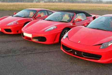 Activity Superstore - Three lap Ferrari driving thrill at a choice of three locations - Save 0%