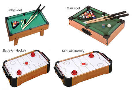 Eurotrade - Baby pool set or baby air hockey set - Save 82%
