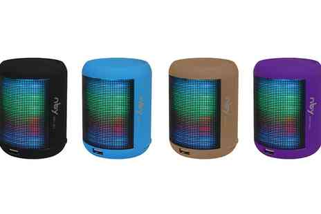 Groupon Goods Global GmbH - One or Two Nby Small Led Light Speakers - Save 53%