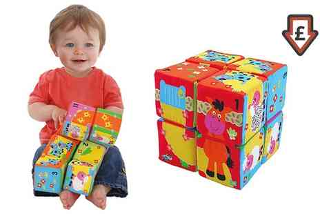 Groupon Goods Global GmbH - Galt Toys Fun Blocks Activity Cube - Save 62%