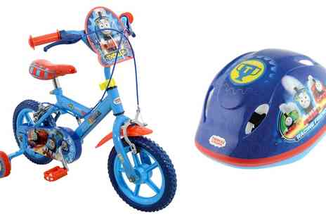 Groupon Goods Global GmbH - Thomas & Friends 12 inch Bike with Helmet With Free Delivery - Save 0%