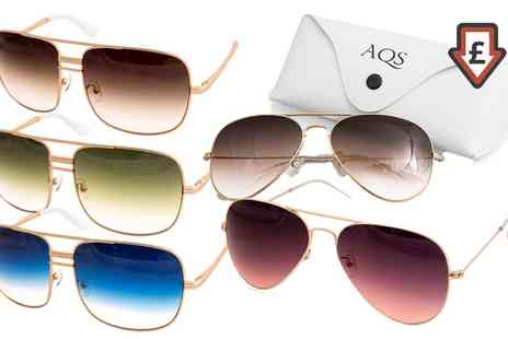 Aquaswiss - AQS Classic Aviator Sunglasses in Choice of Model and Colour With Free Delivery - Save 0%