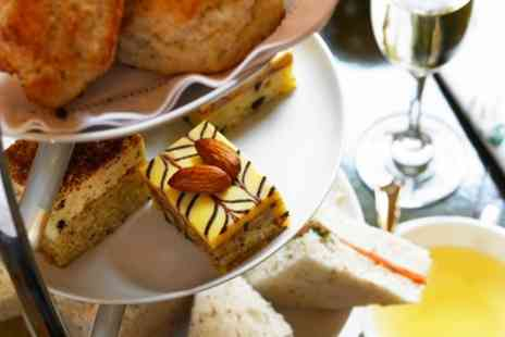 AM PM Bohemian Restaurant - Afternoon Tea with an Optional Glass of Prosecco for Two or Four - Save 49%