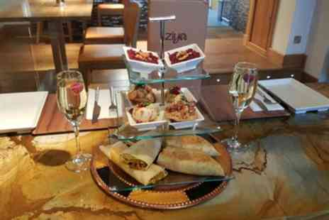 Ziya Asian Grill - Indian Street Food Afternoon Tea with a Glass of Prosecco for Two or Four - Save 0%